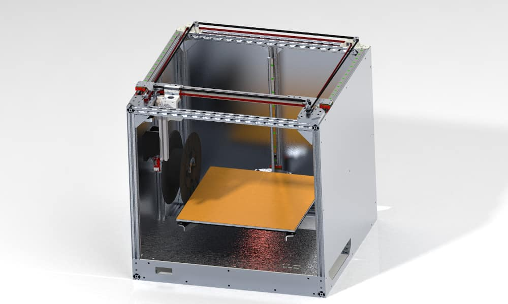 diy 3d printer render corexy