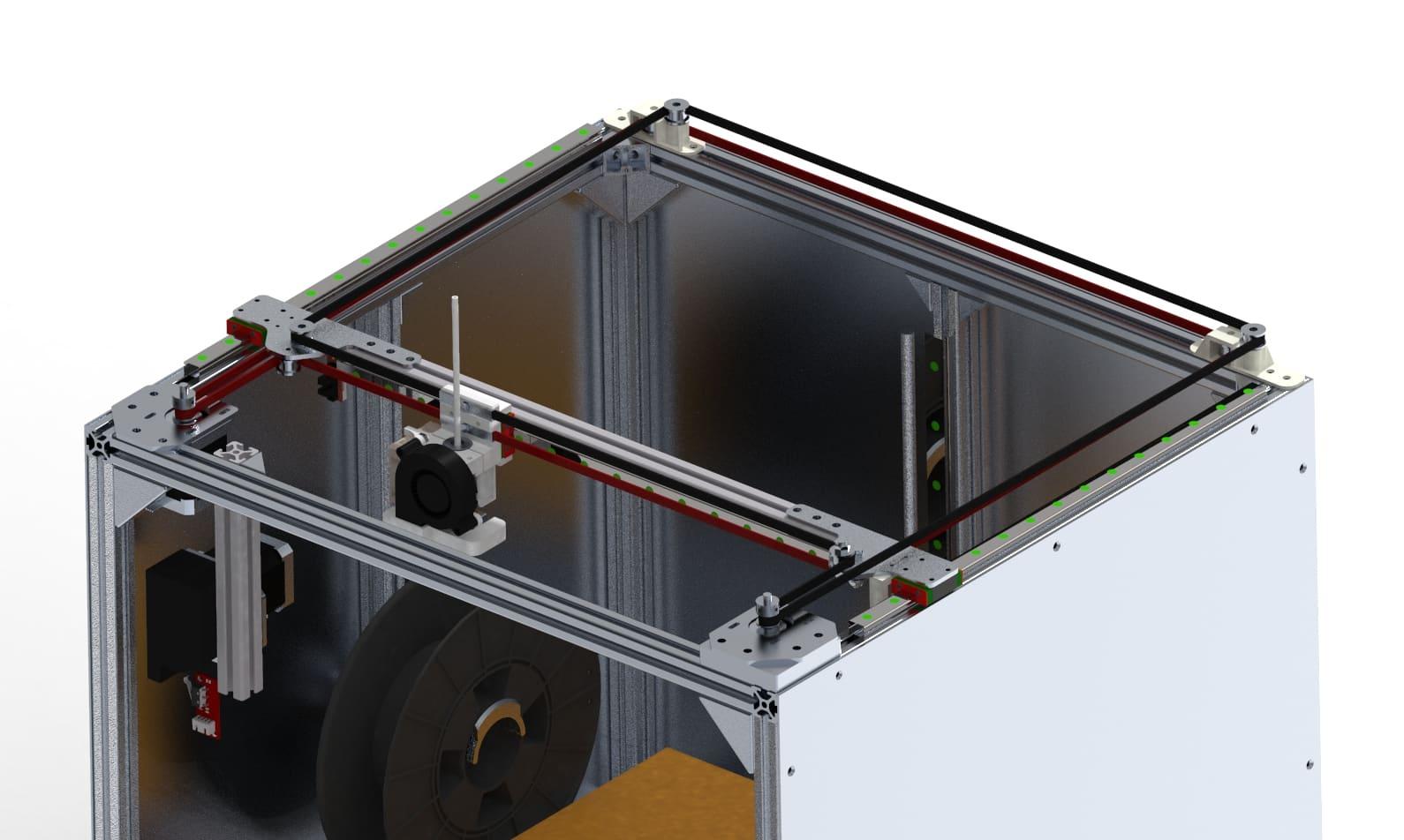 corexy gantry with linear rails