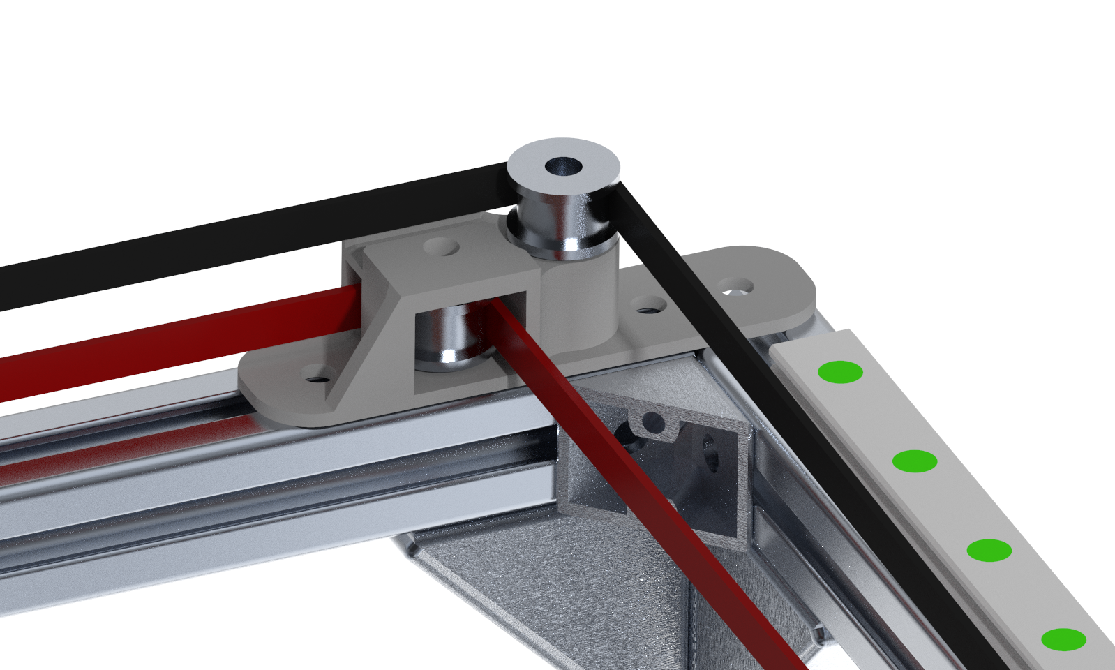 3D printed idler mount