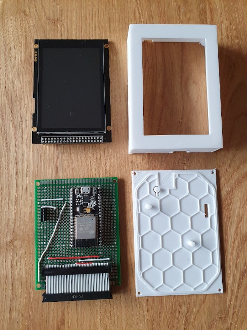 RepPanel board and 3d printed case